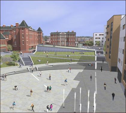 Worcester City Campus - Stage 2 Design